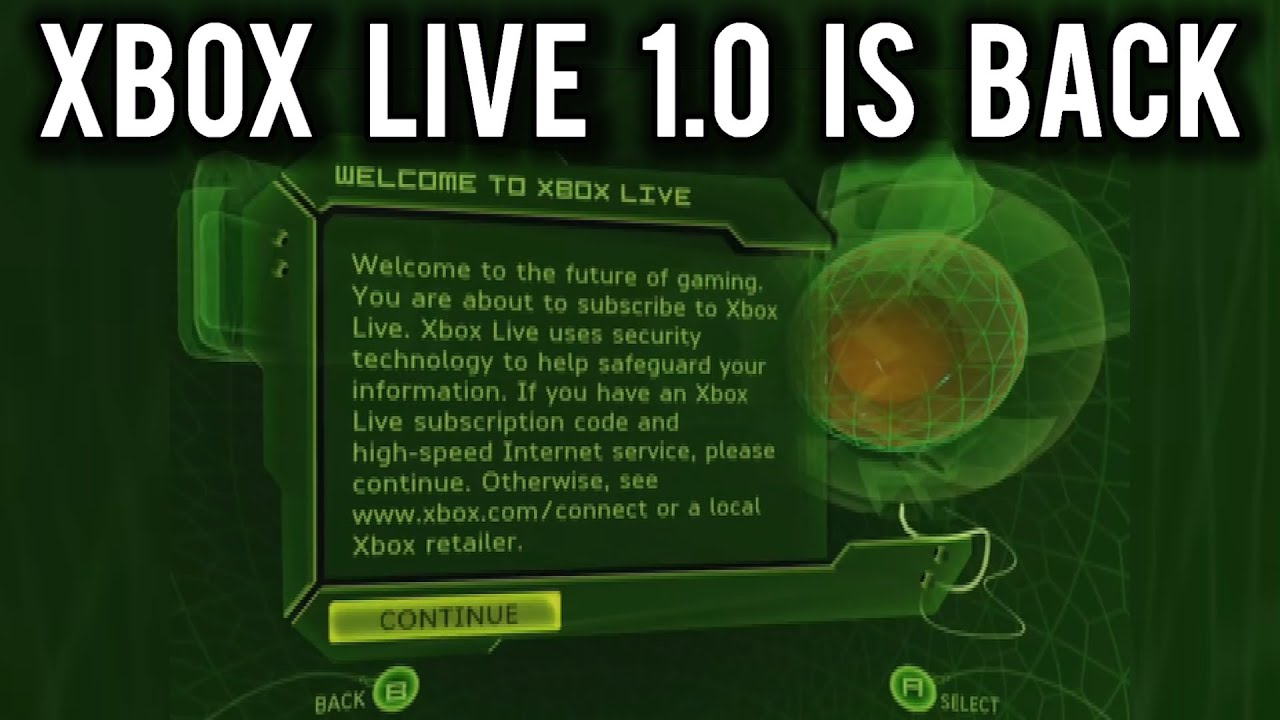 XBOX Live 1.0 Reverse Engineered (WiP)