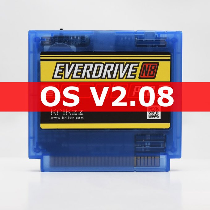 Everdrive N8 Pro v2.08 Firmware update