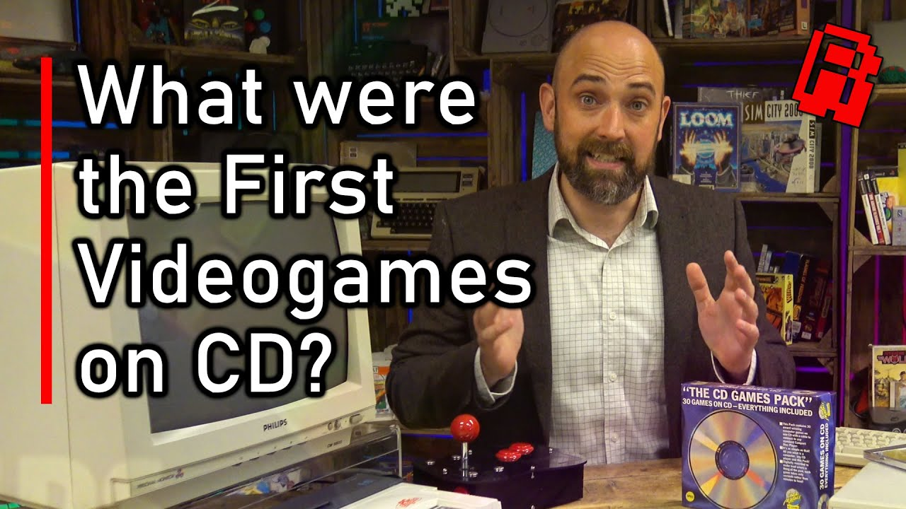 Retro Man Cave Explores First Games On CD