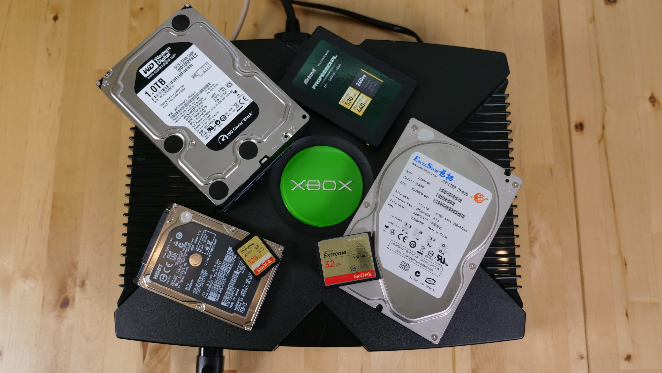 OG Xbox Storage Upgrade Shootout
