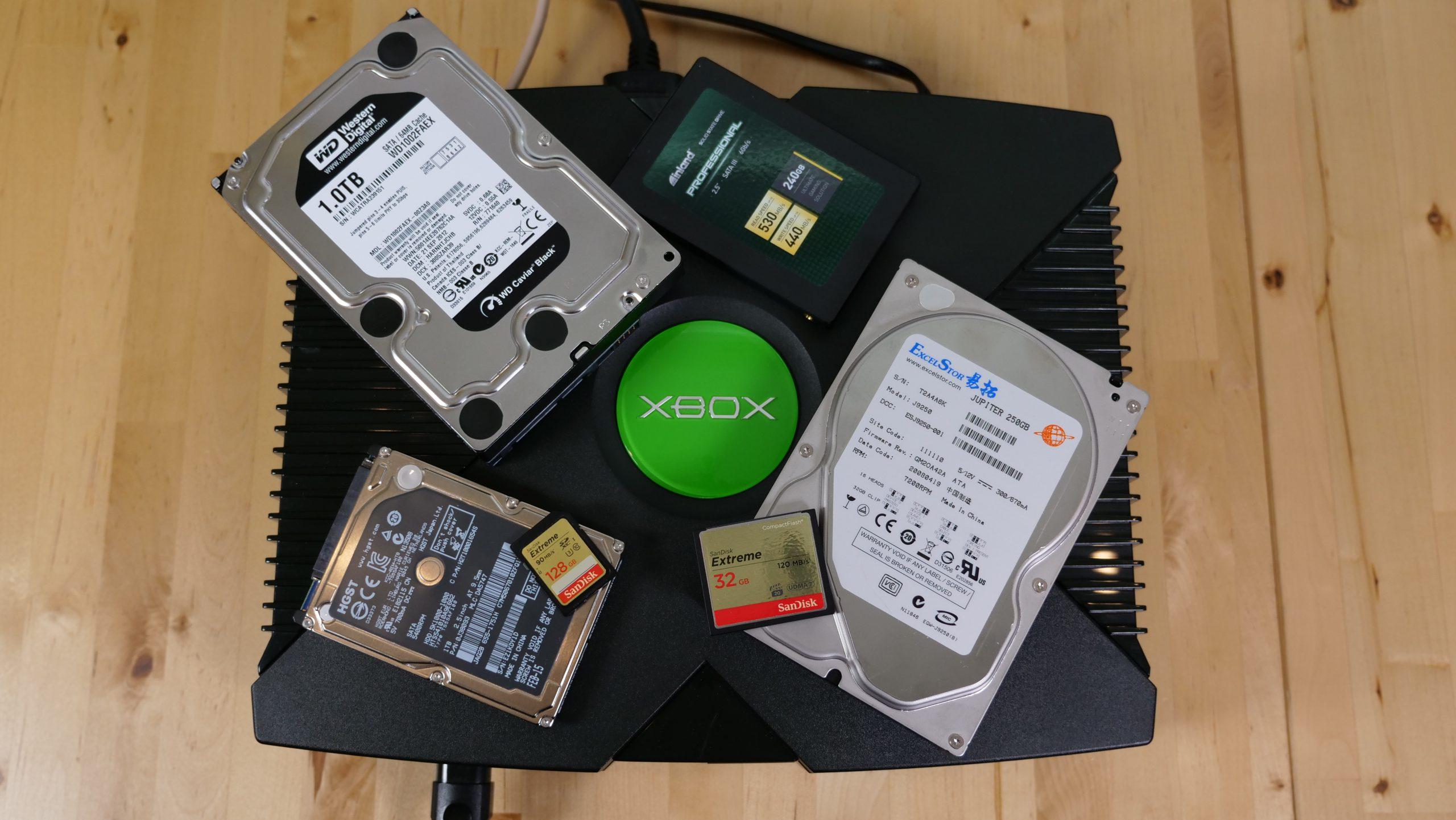 OG Xbox Storage Upgrade Shootout