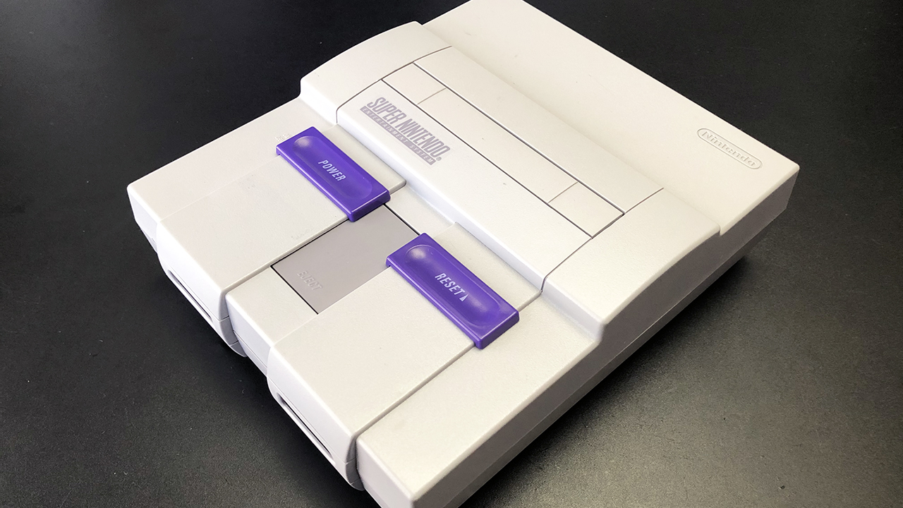 Restoring A Super Nintendo