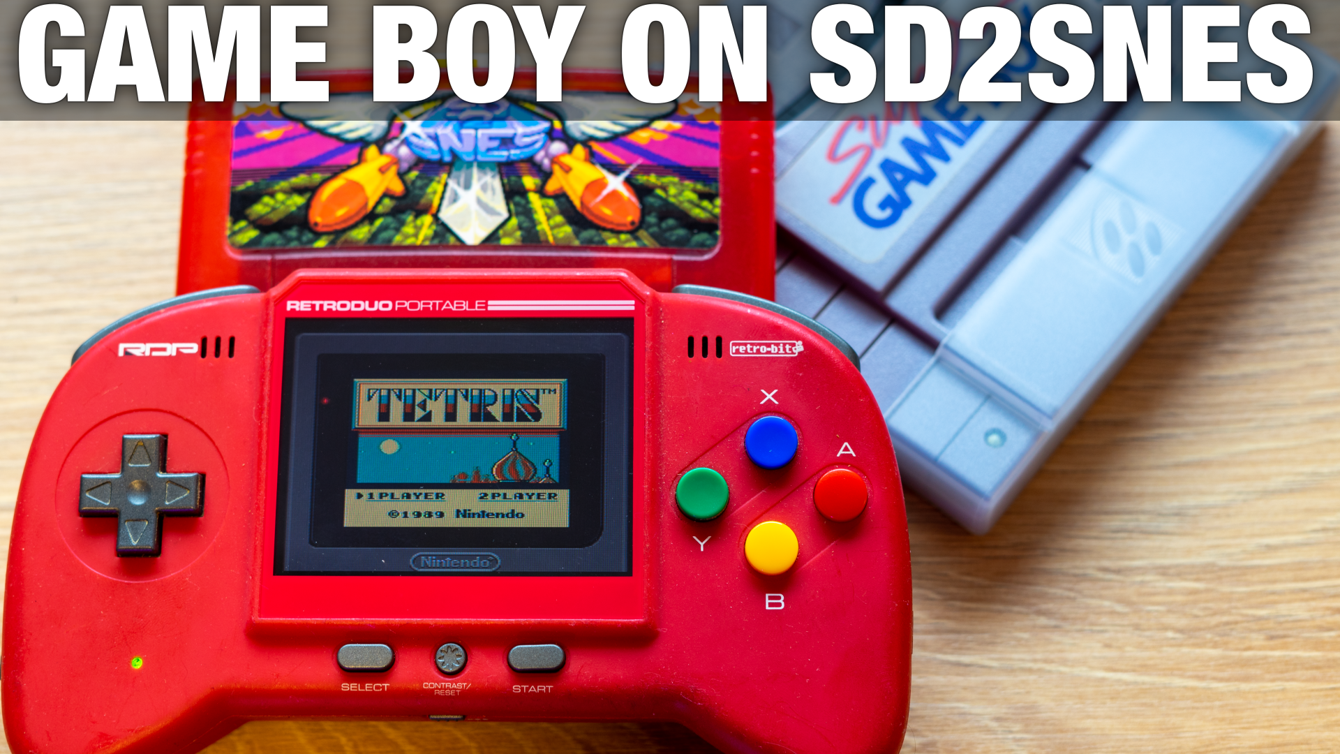 SD2SNES Gets Super Game Boy Support
