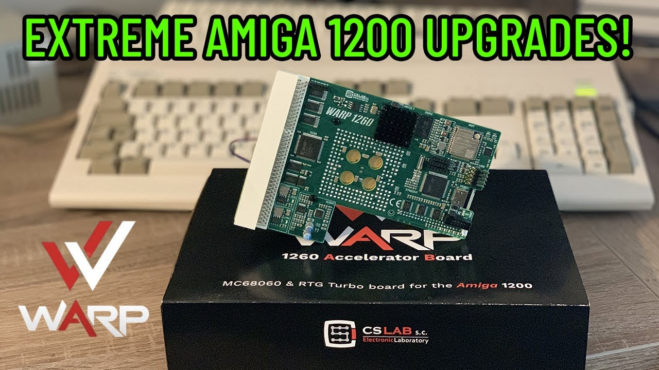 Amiga Warp 1260 Review via Dan Wood