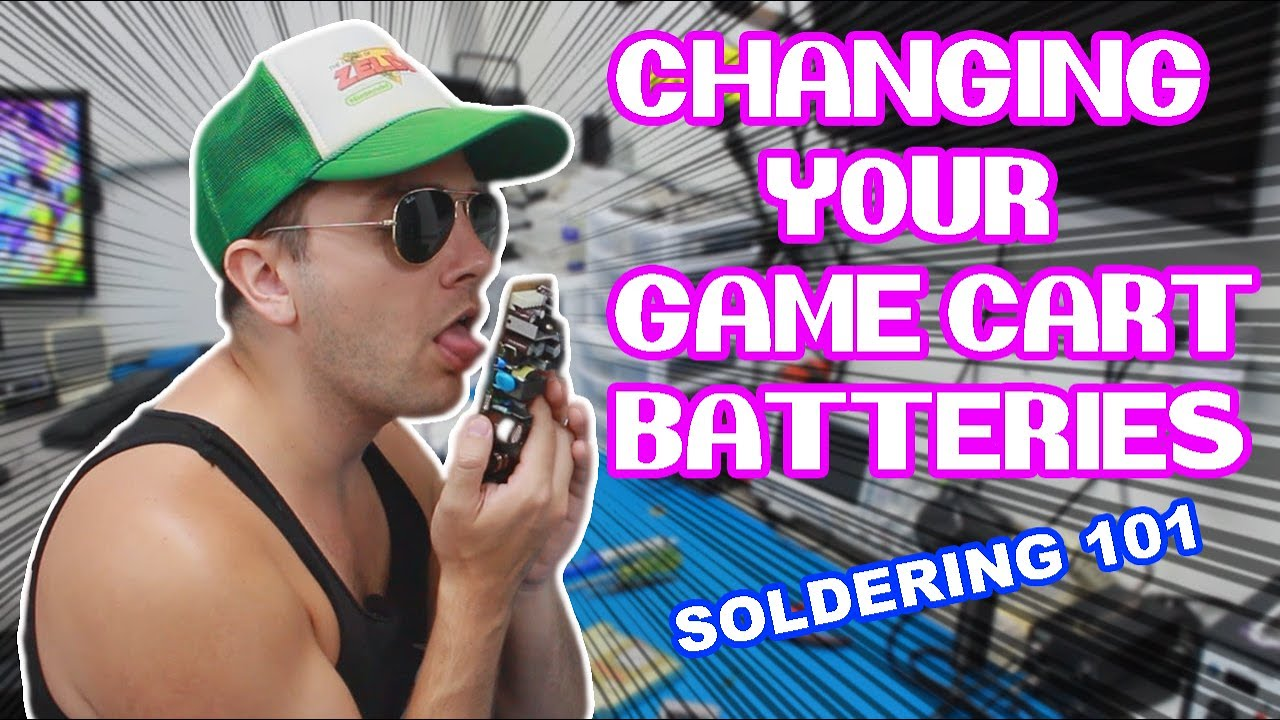 Changing Your Game Cartridge Batteries