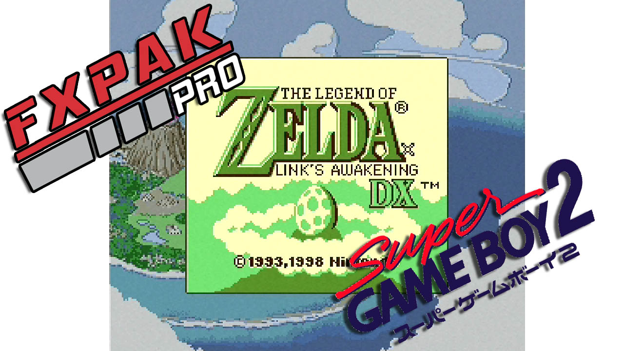 FXPAK SuperGameBoy Improvements Continue
