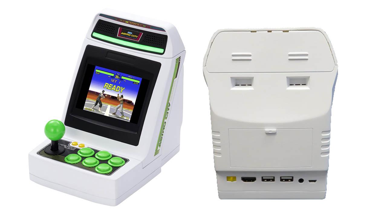 Full Game List Revealed for Sega's Astro City Mini