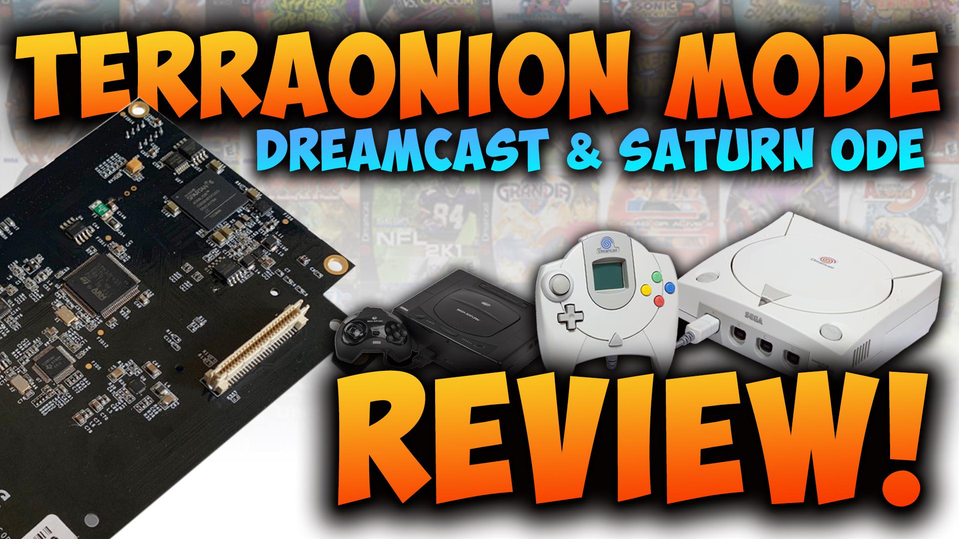 Sega Dreamcast & Saturn ODE:  MODE Review