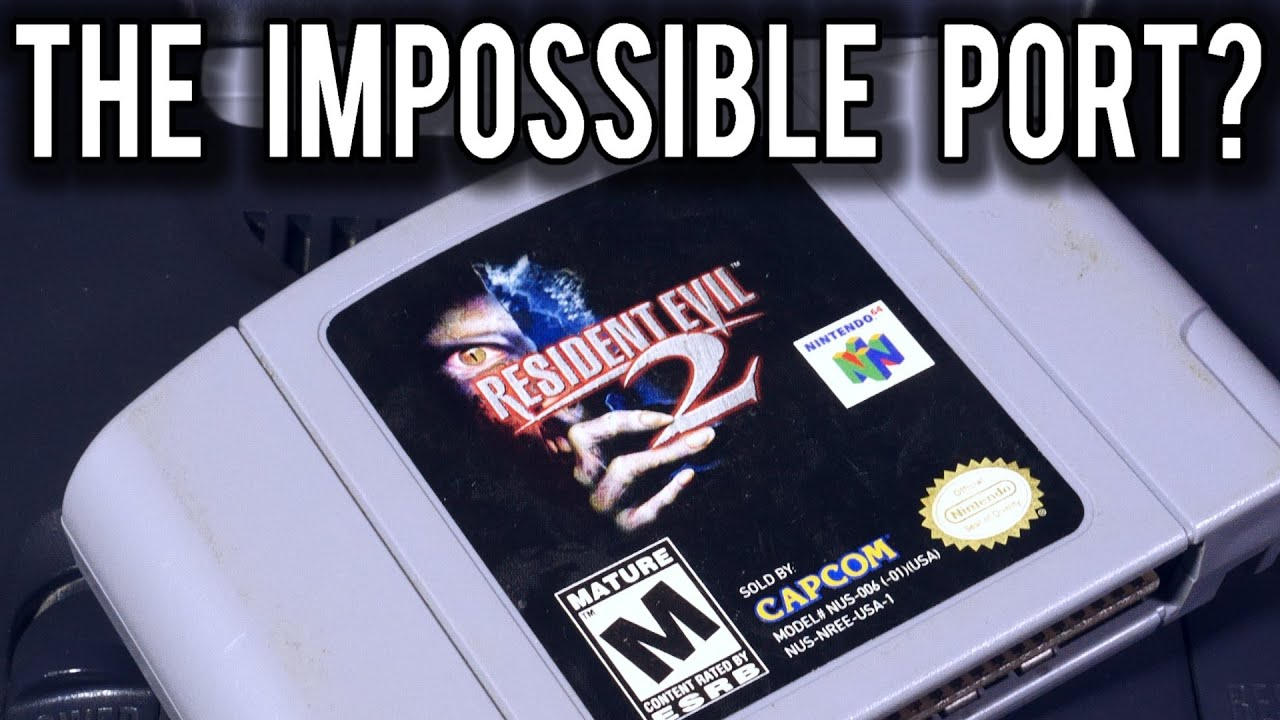 How did Resident Evil 2 manage to fit on a single Nintendo 64 Cart