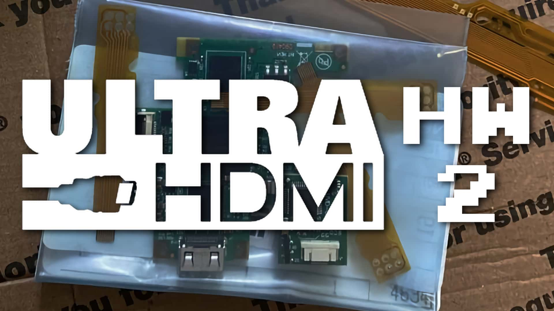 UltraHDMI Mod Updated With Analog Video Options [Updated]