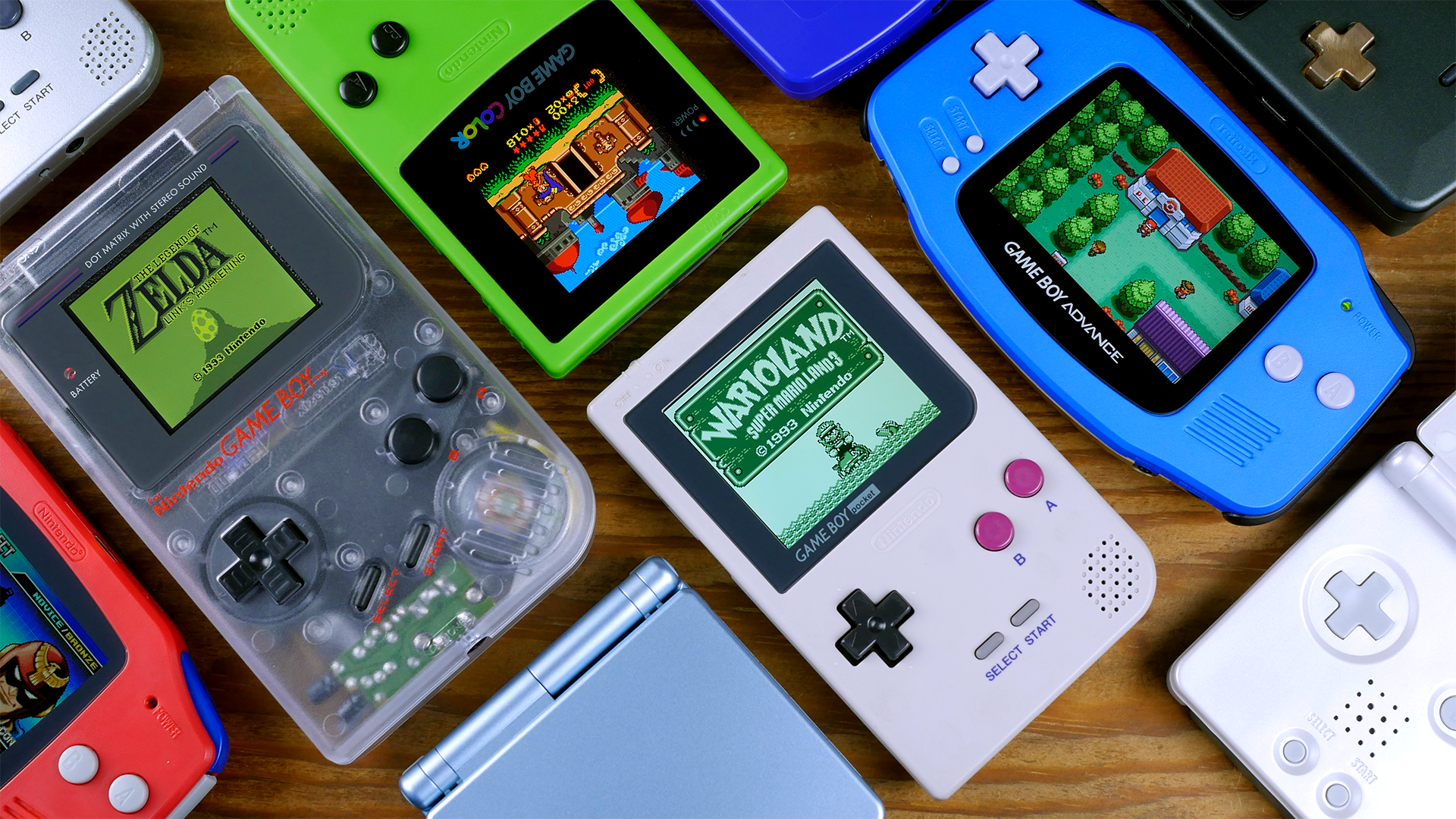 Overview of Game Boy IPS Screen Mods