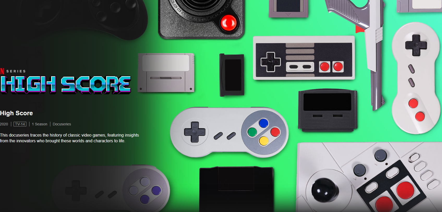 Netflix Attemps to Appeal to Classic Gamers via High Score Documentary