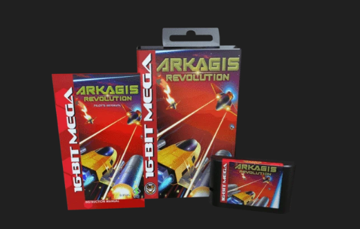 Arkagis Revolution Released for Genesis / Mega Drive
