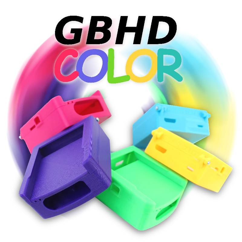 GBHD Color Consolizer by Gamebox Systems