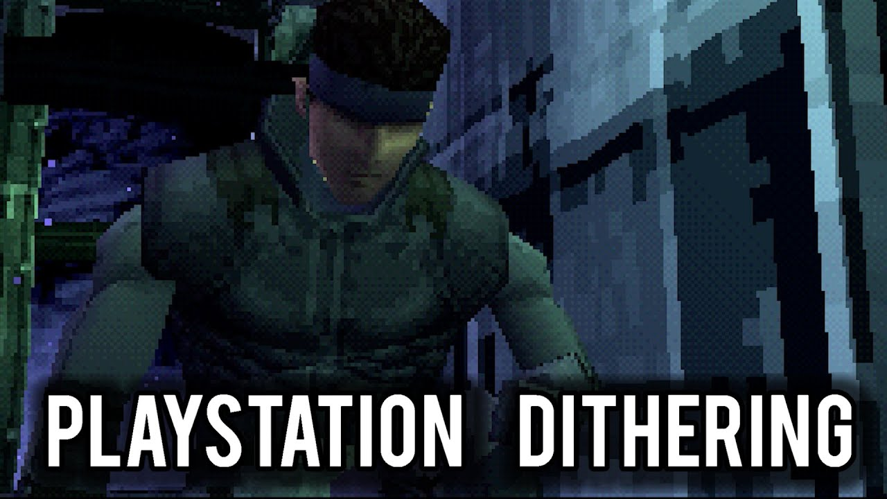 MVG – PlayStation Dithering Explained