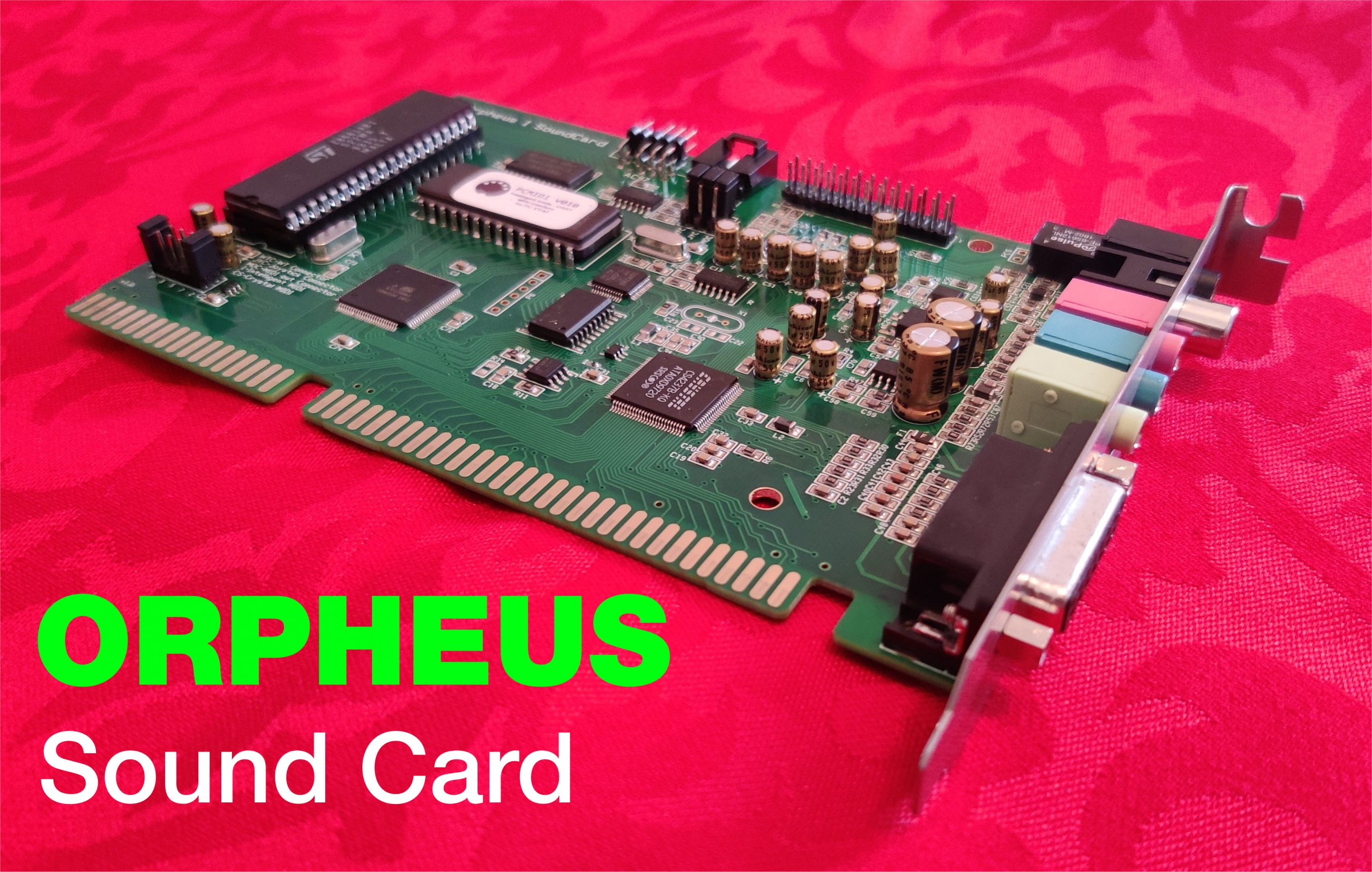 Orpheus: The Ultimate Classic DOS Gaming PC Sound Card