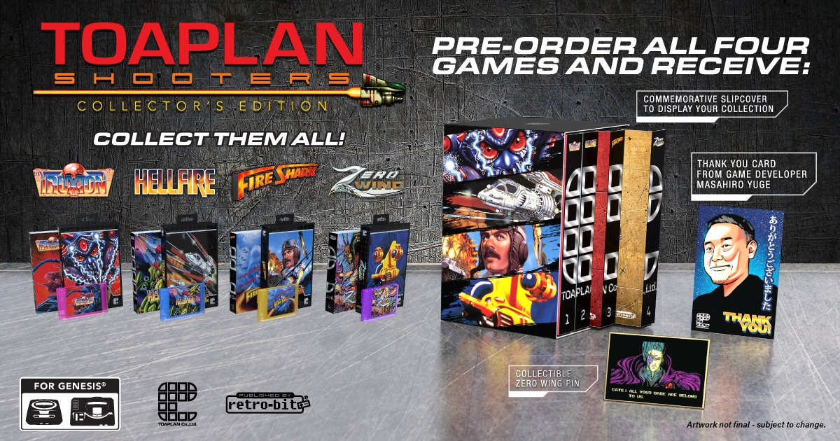 Toaplan Collector's Edition Bundle Pre-Orders