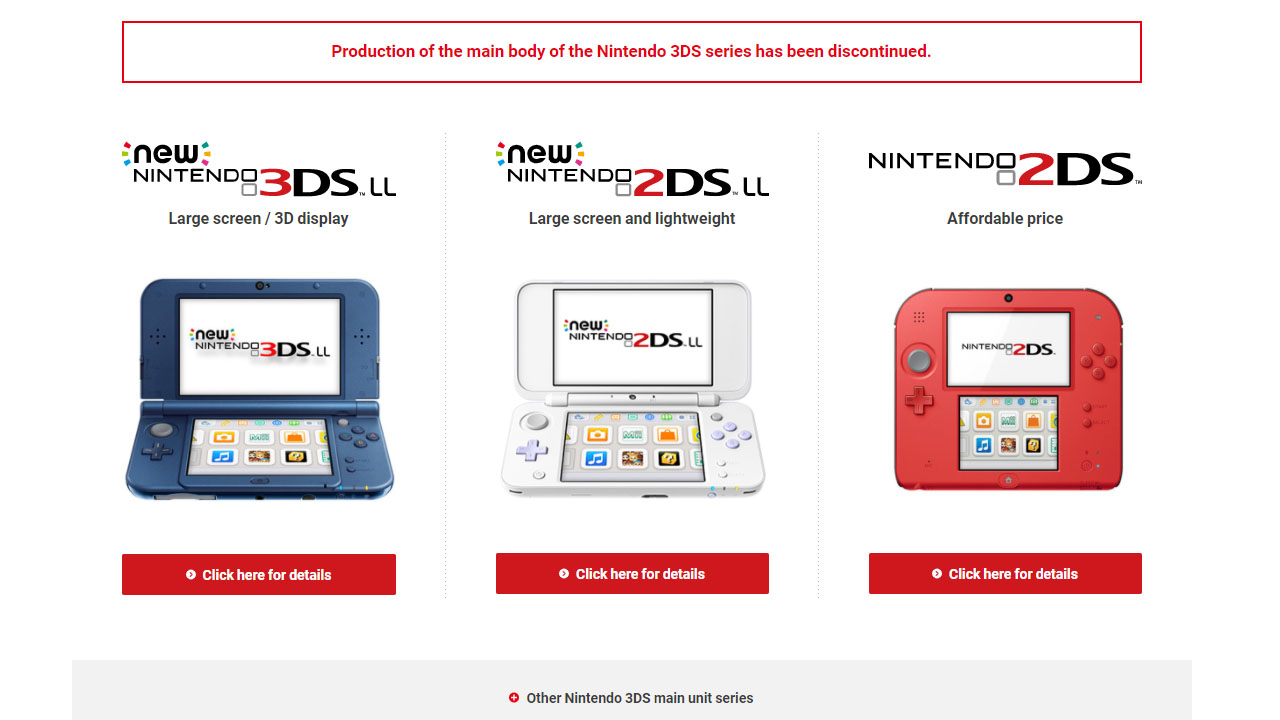 Nintendo 3DS Discontinued?