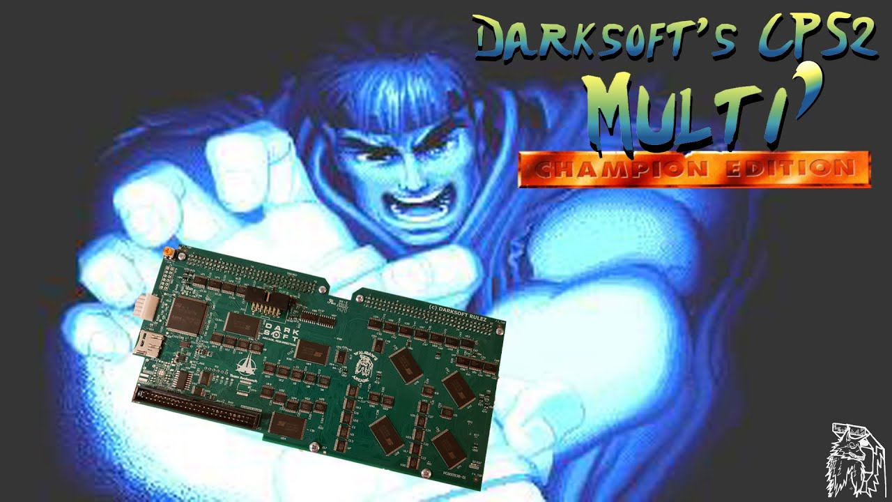 Updated CPS2 Multi from Darksoft