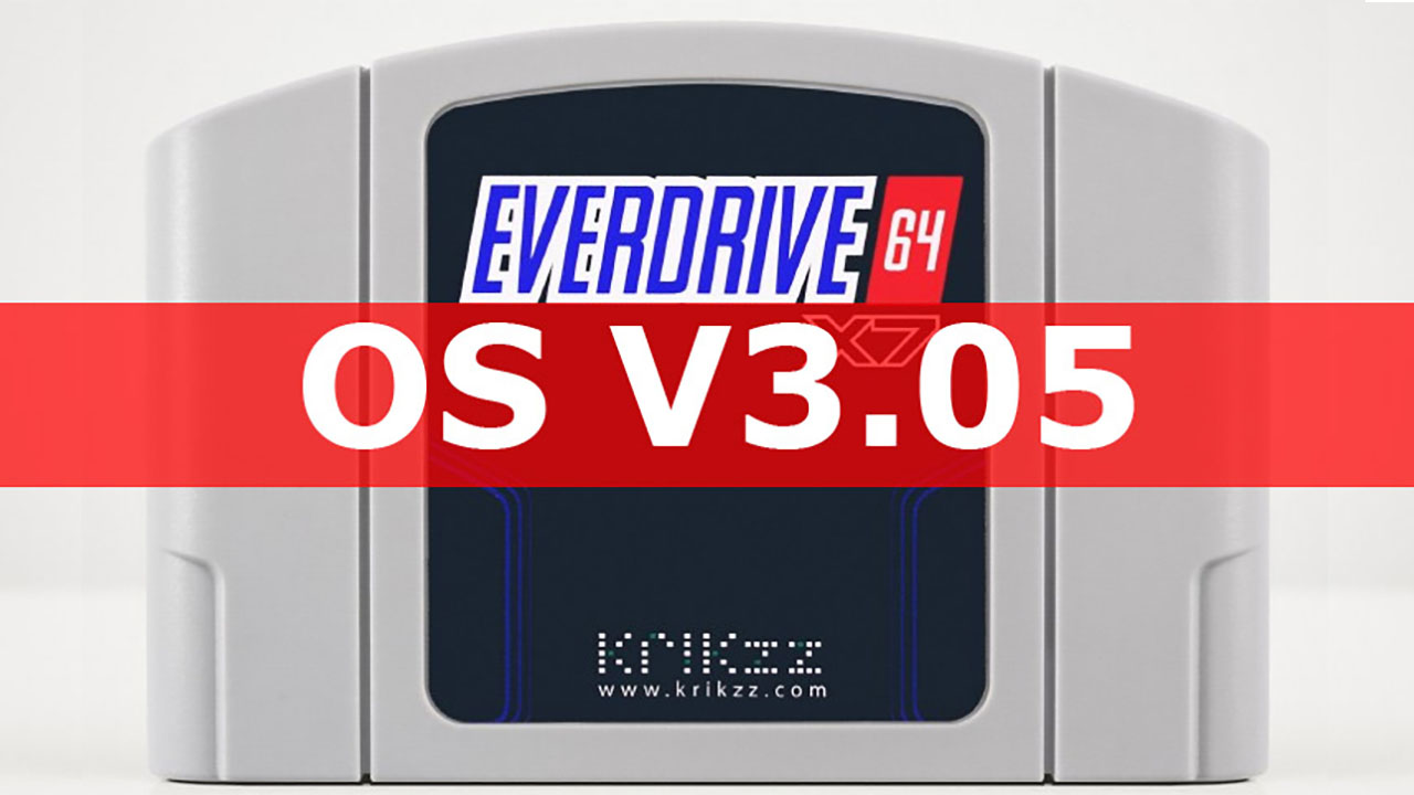Everdrive 64 & MEDPro Firmware Updates
