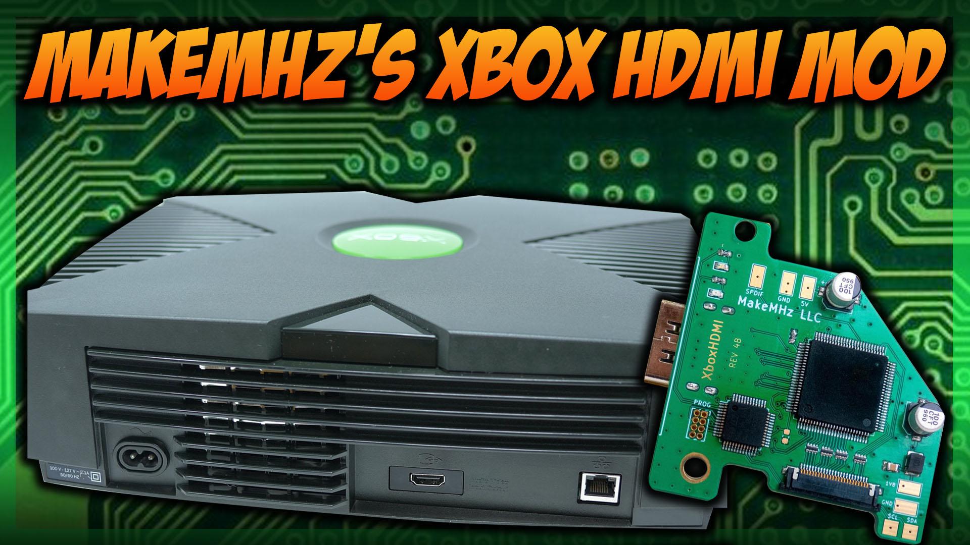Xbox HDMI by MakeMHz