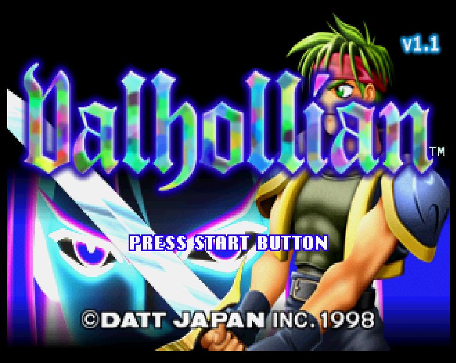 Sega Saturn's Valhollian Translated to English