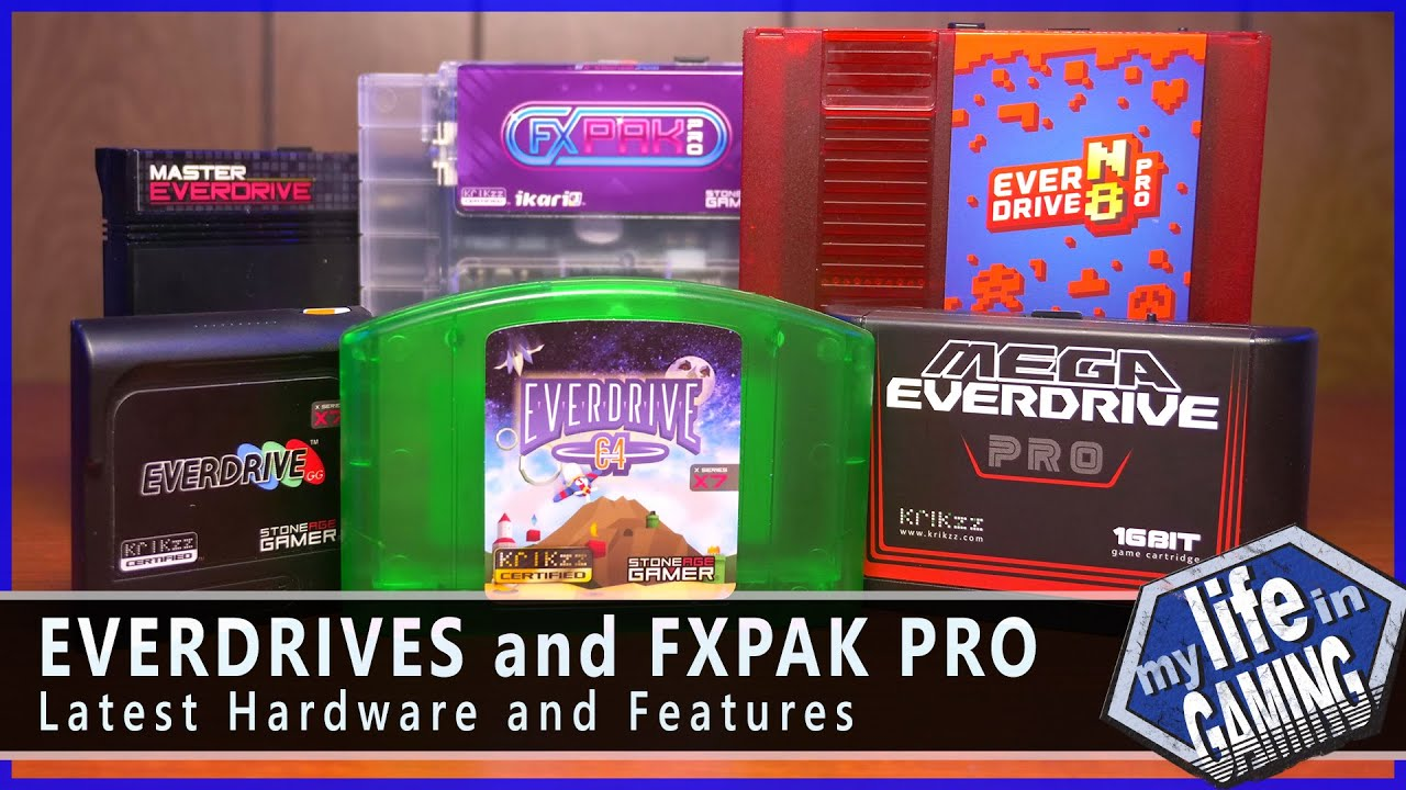 EverDrive & FXPak Pro Update video from My Life in Gaming