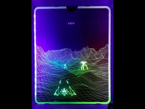 UV Holographic Overlays for Vectrex Consoles