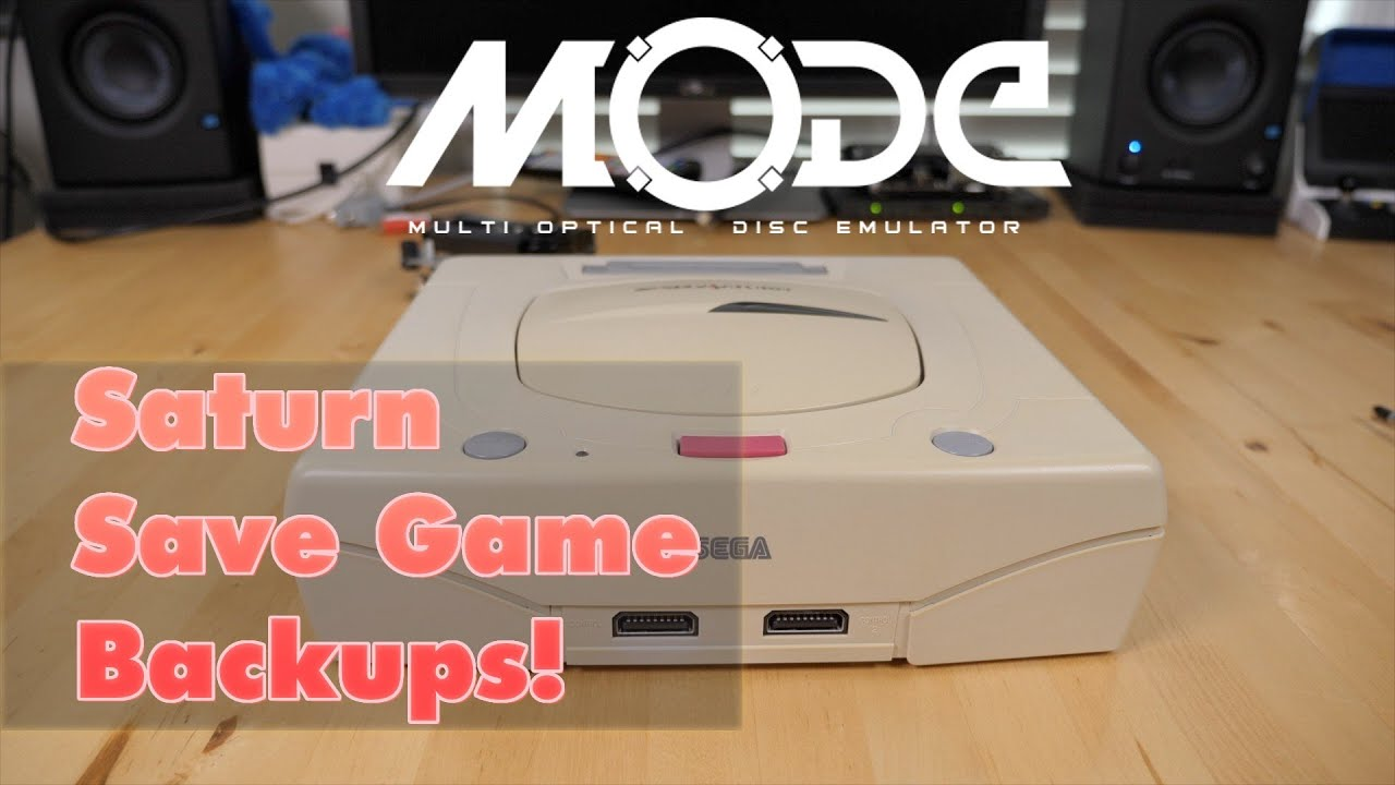 MODE Saturn Save Restore & Backup
