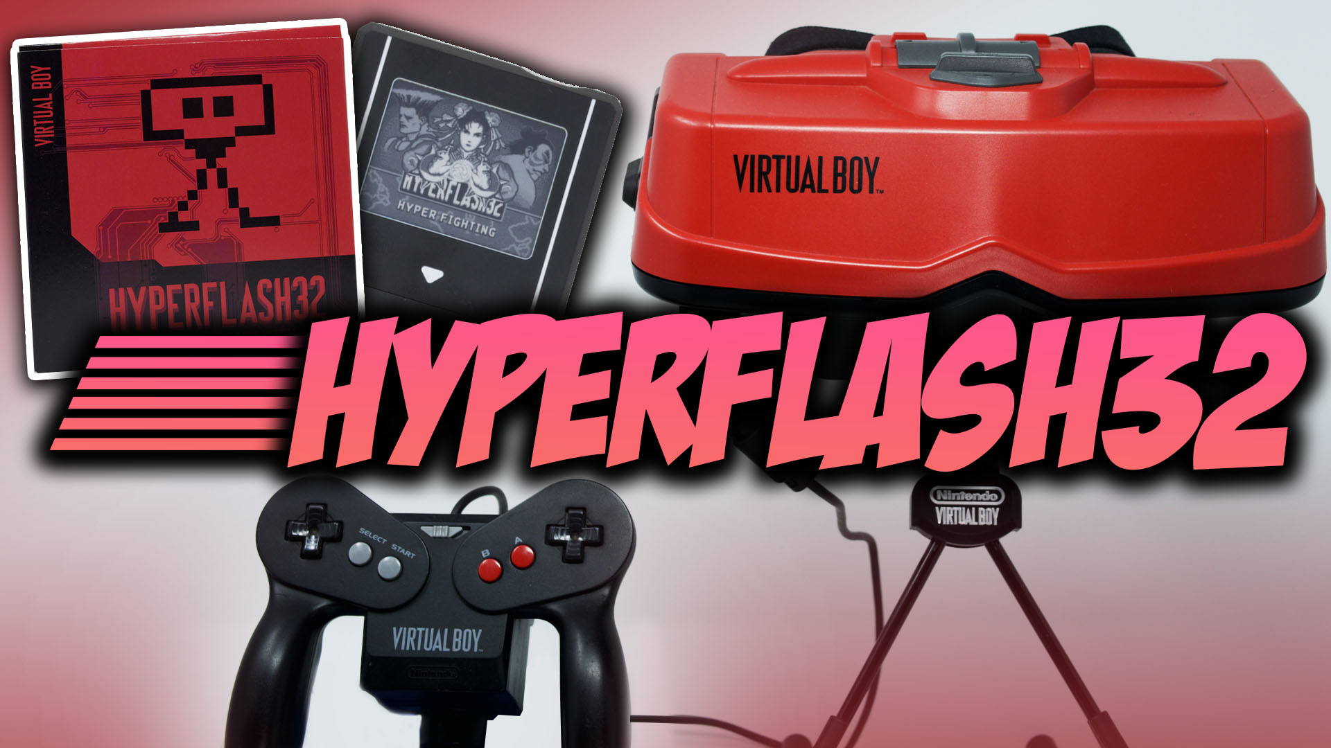HyperFlash32 – Virtual Boy eInk ROM Cart Reviewed