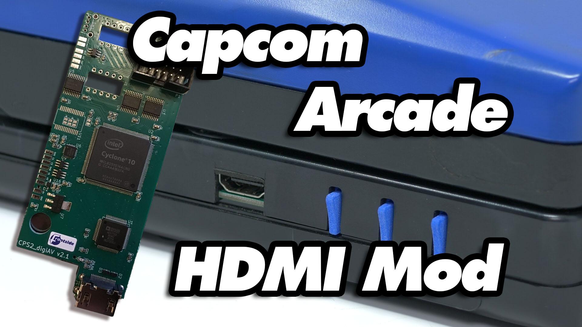 Capcom Arcade HDMI Mod (CPSHDMI)