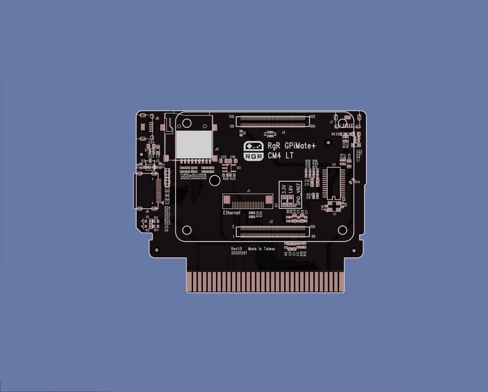 GPiMate Plus for CM4 Lite by Retro Game Restore