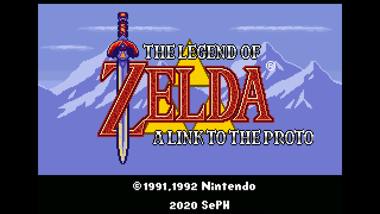 The Legend of Zelda – 'A Link To The Proto'