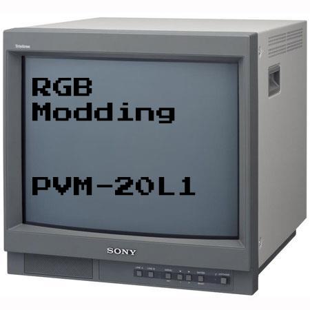 RGB Modding a PVM-20L1