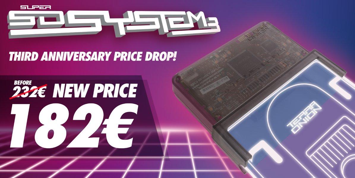 SSDS3 Permanent Price Drop