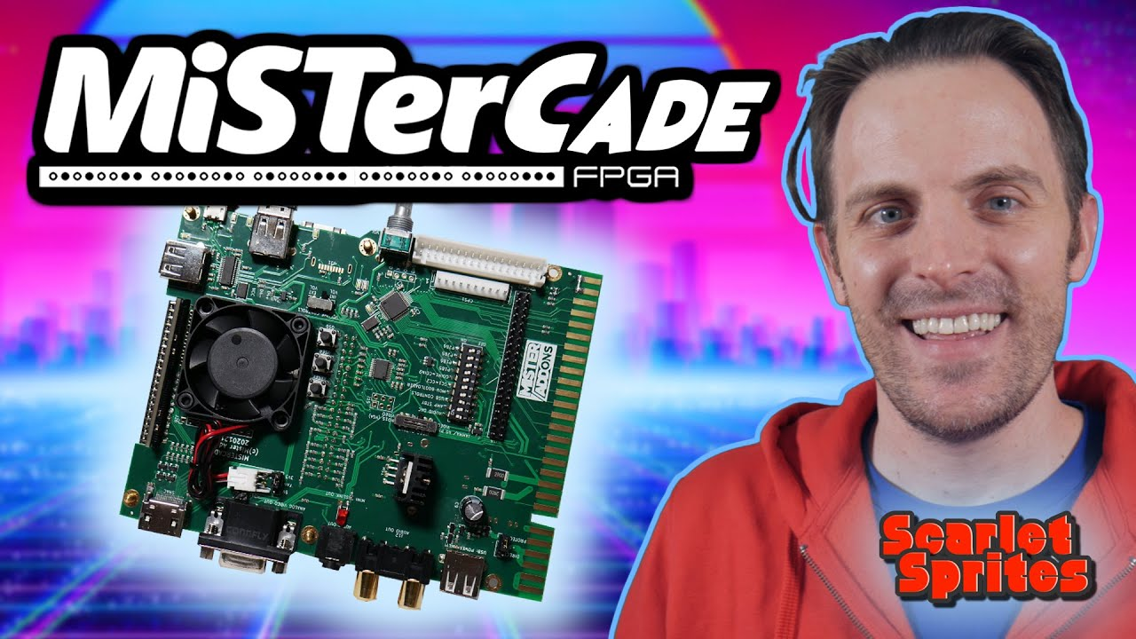 MiSTerCade – First Look