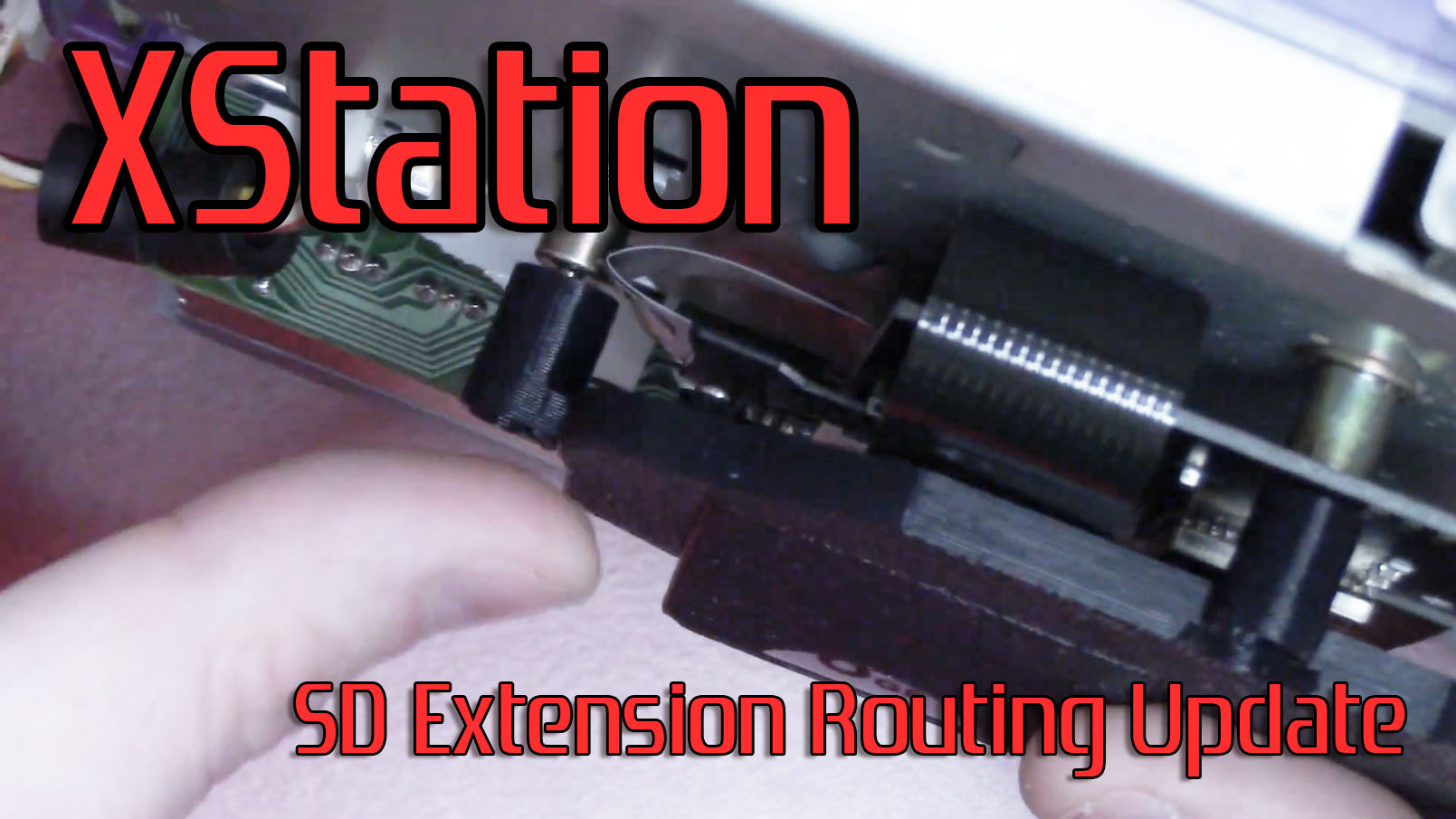 XStation SD Mount – New Extension Routing Suggestion