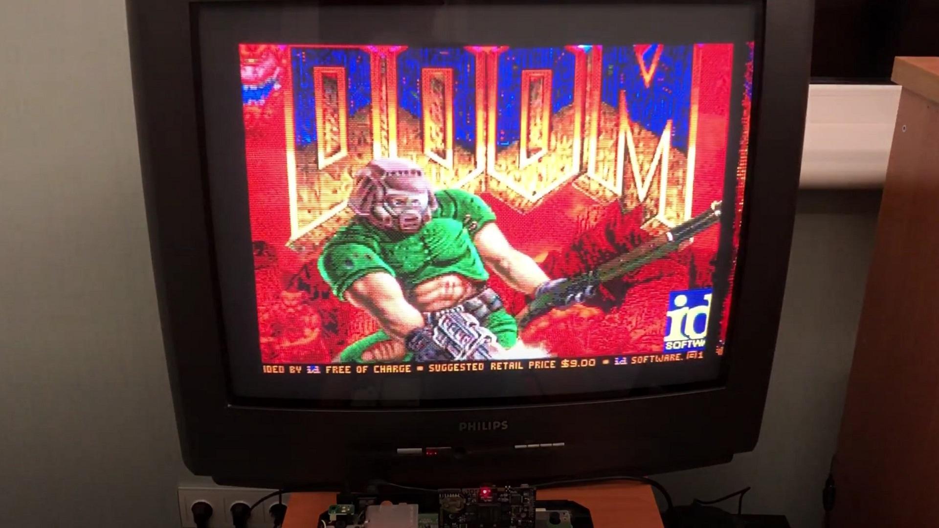 Doom Ported to the Genesis via Mega Everdrive Pro