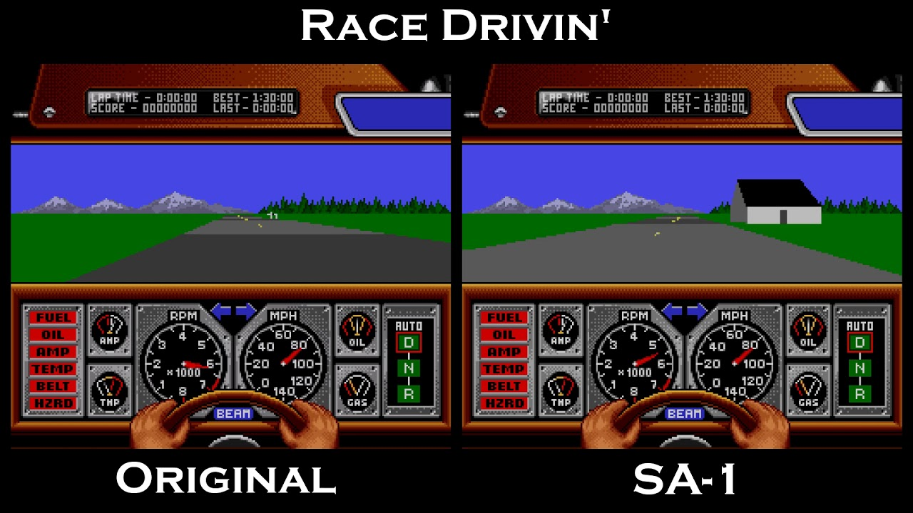 Vitor Vilela's Race Drivin' SA-1 Hack Released
