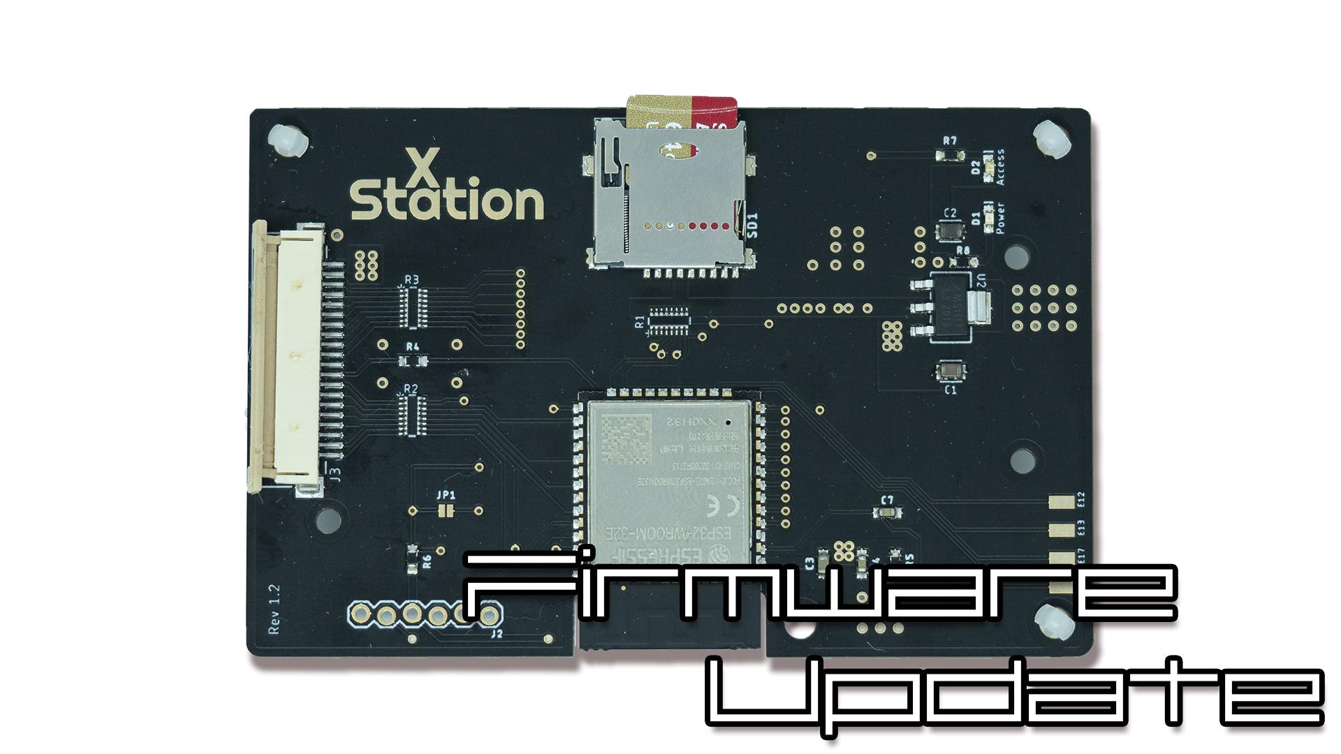 XStation Firmware Update