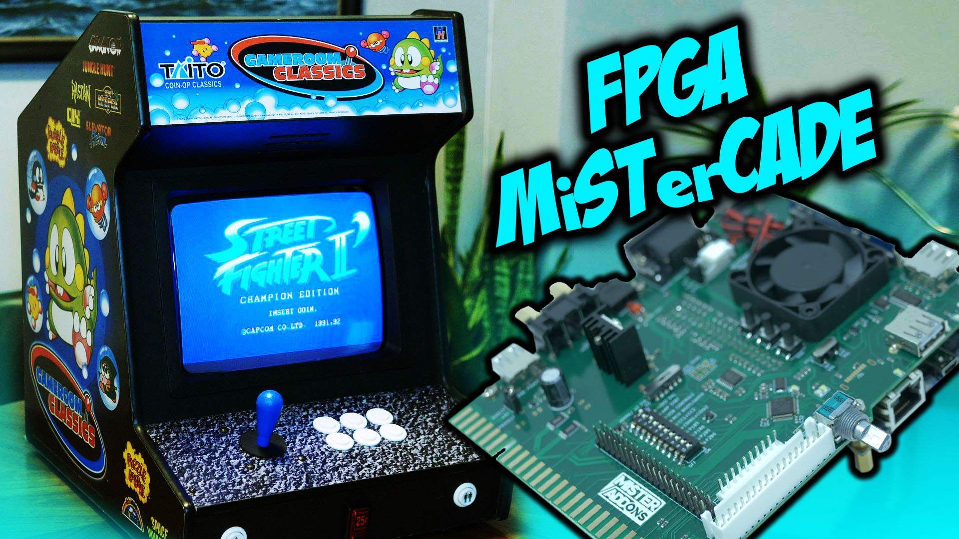 MiSTerCade: Installation and Overview
