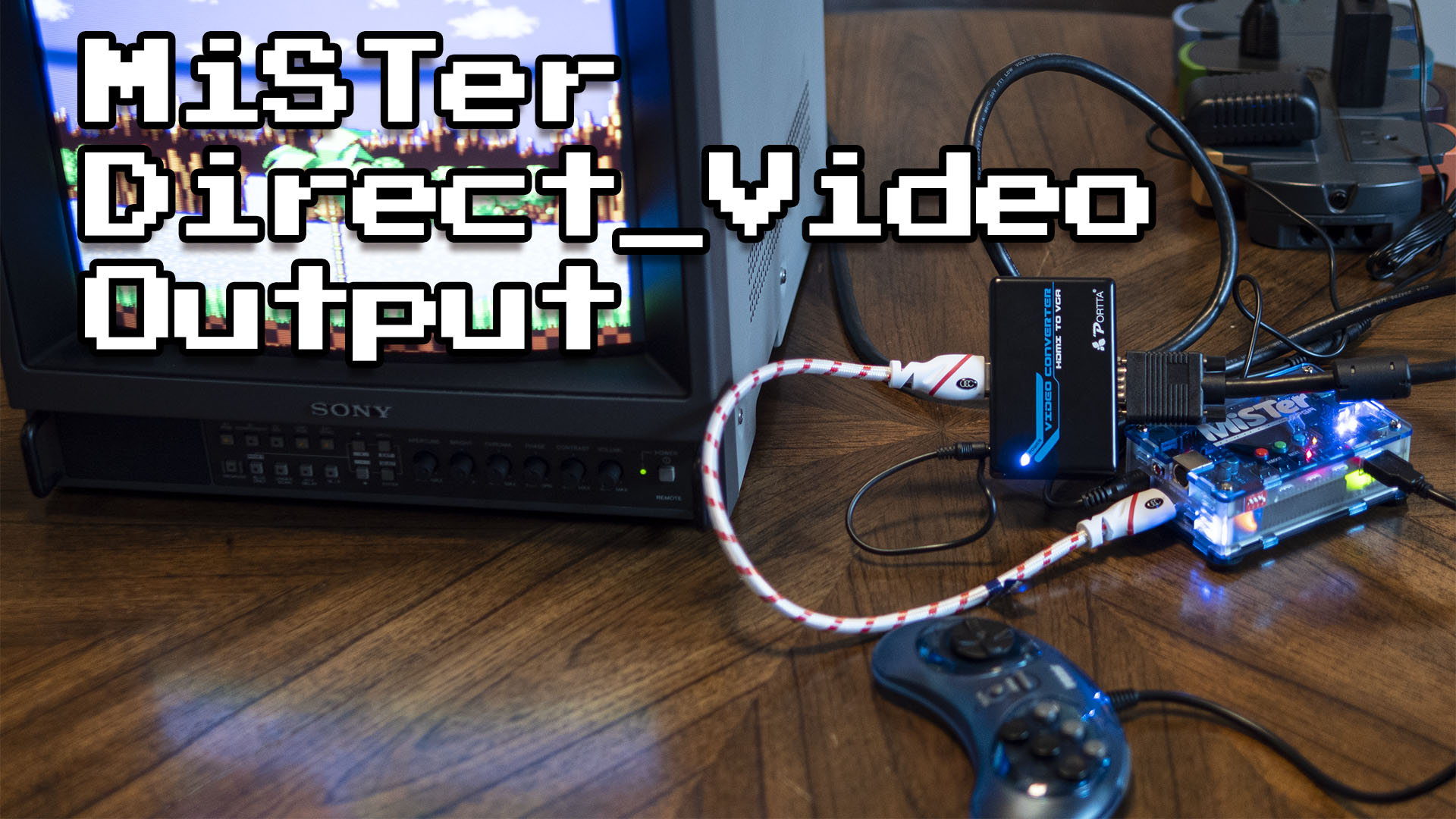 MiSTer FPGA: 240p over HDMI (Direct Video)