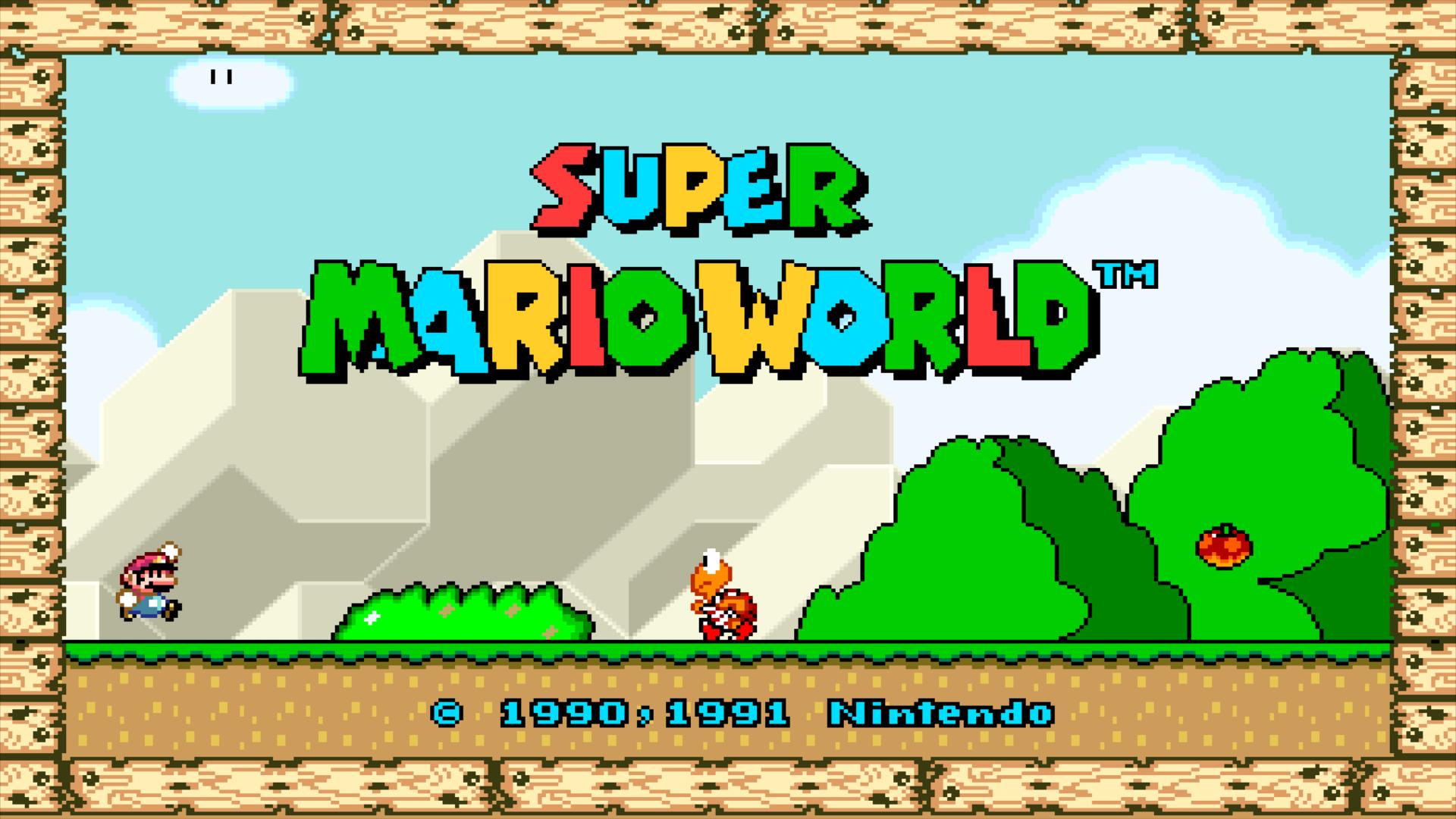 Super Mario World Widescreen Hack