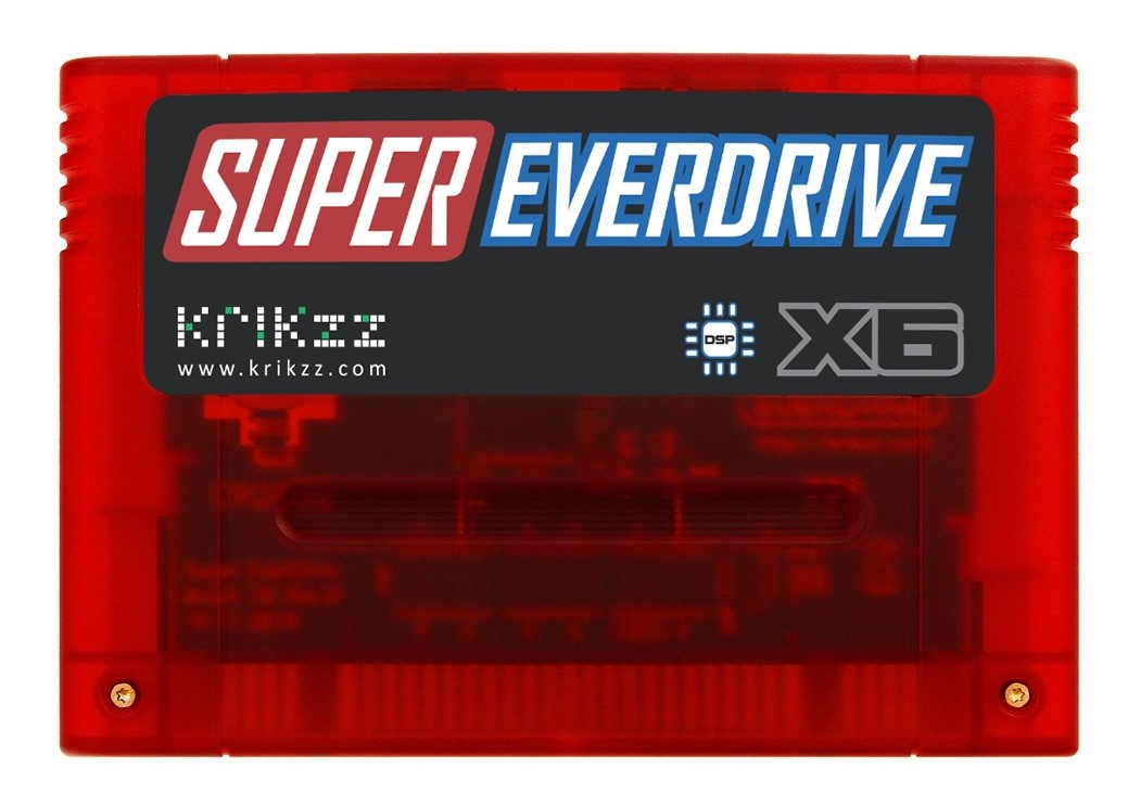 Super Everdrive X-series firmware v1.04 and X6 announcement
