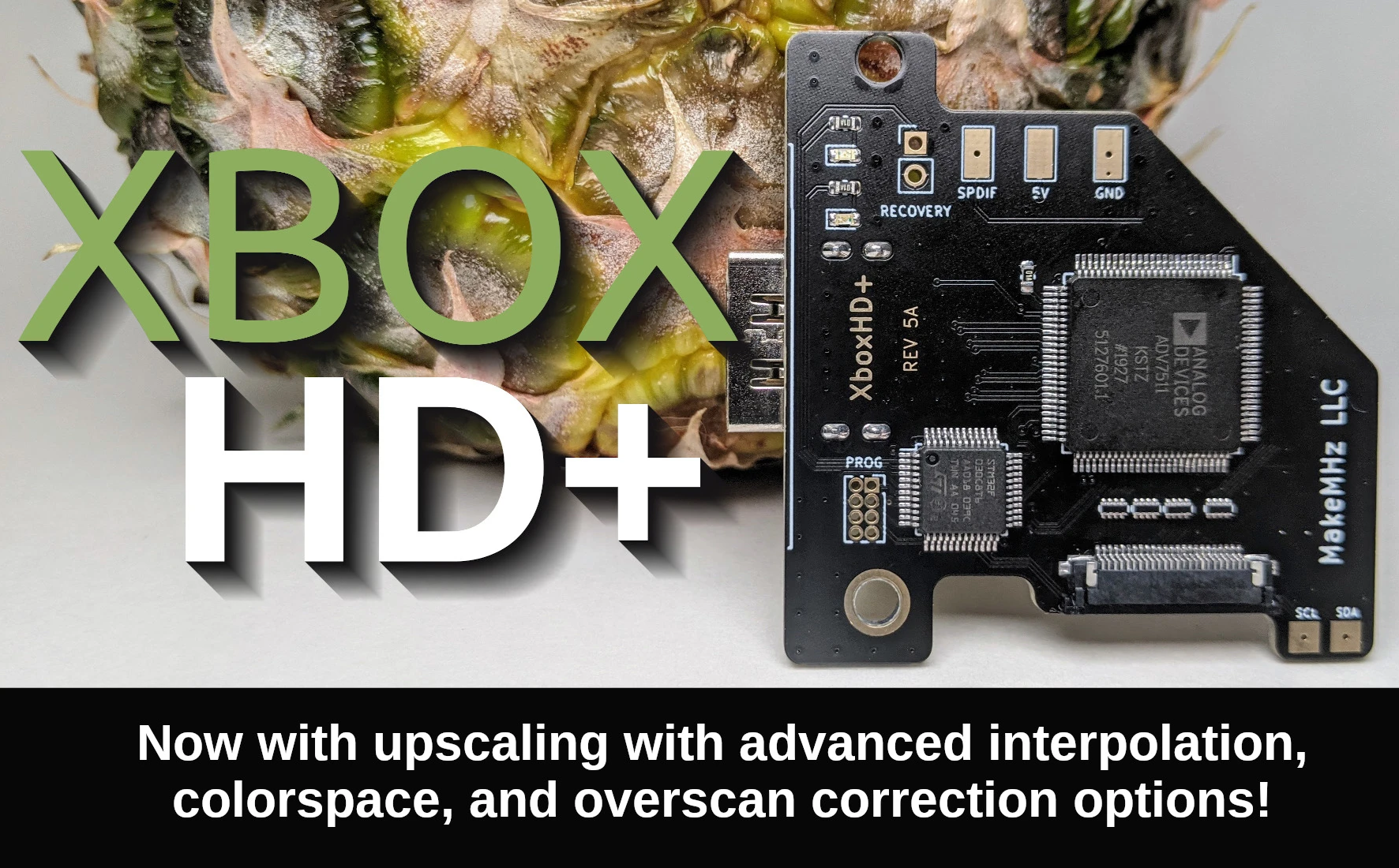 XboxHD+ Xbox HDMI Expansion Adds Scaling and New Features