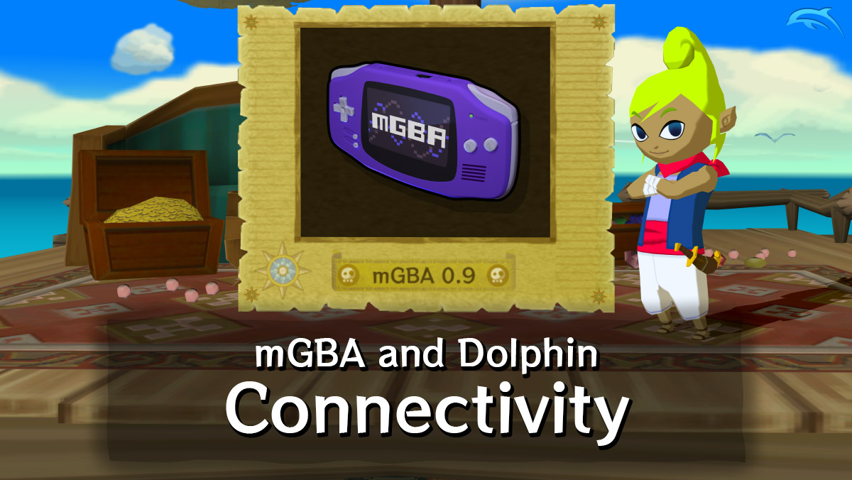 mGBA to Dolphin (GameCube) emulator connectivity