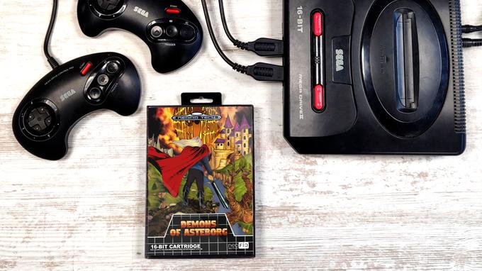 Demons of Asteborg is coming to the Sega Genesis/Mega Drive