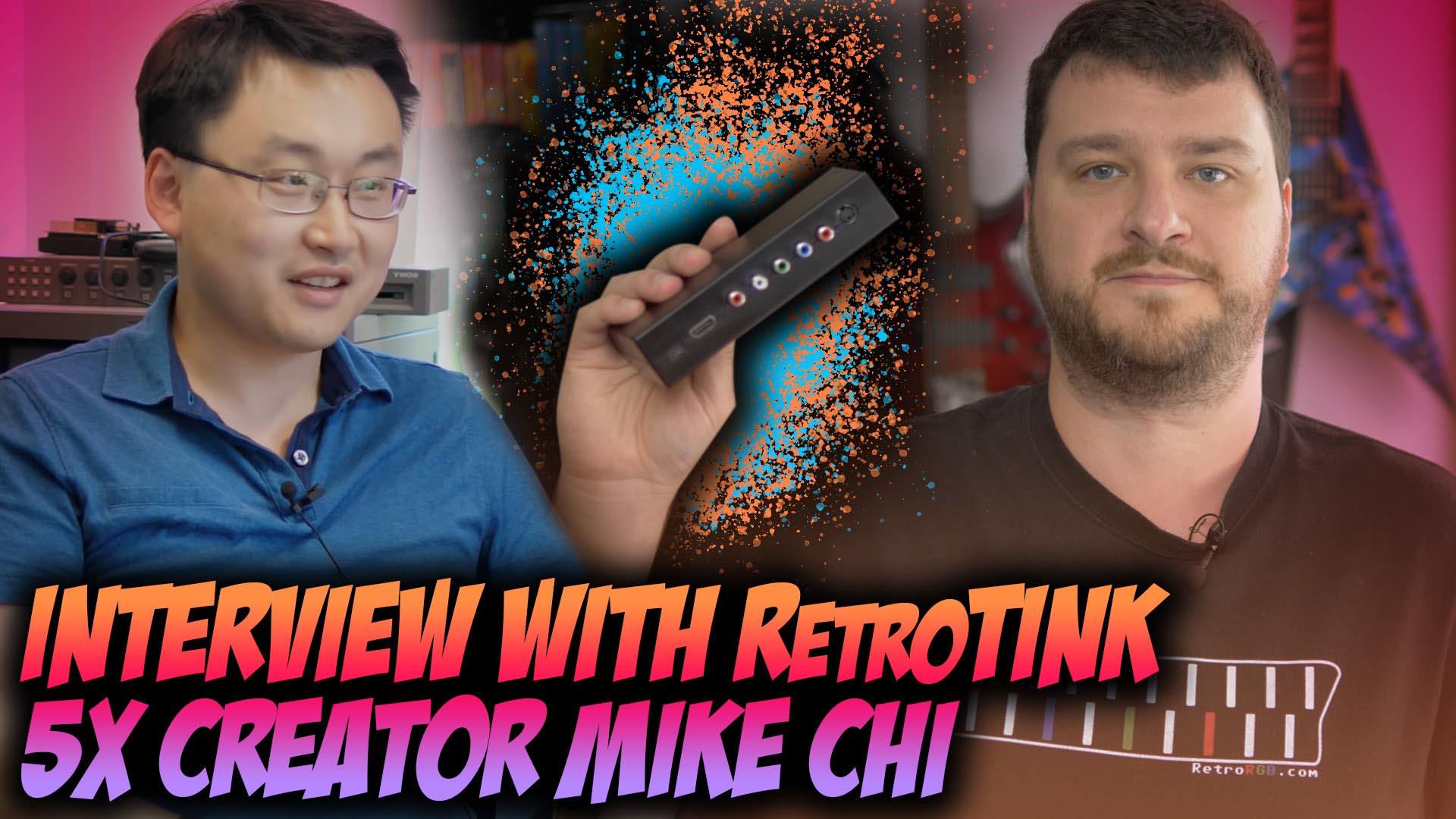 Interview with RetroTINK 5x Creator: Mike Chi