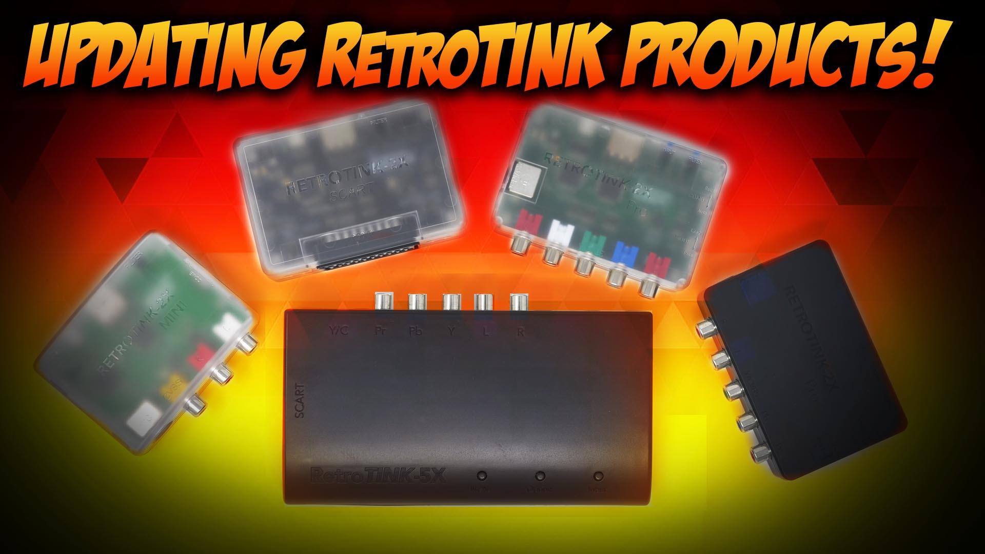 How to Update Your RetroTINK's Firmware