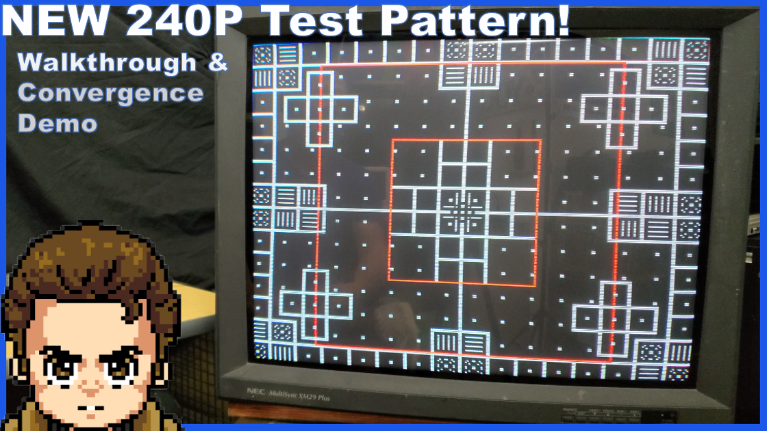 240p Test Suite: Monoscope Test Pattern Added